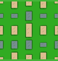 Seamless abstract background with handphone or vector