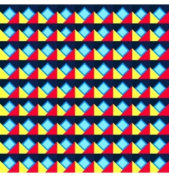 Seamless geometric color pattern vector image