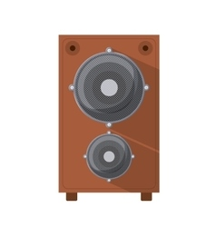 speaker box isolated icon design vector image