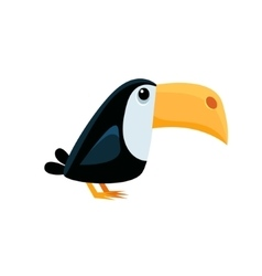 Toucan Funny vector image