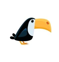 Toucan funny vector