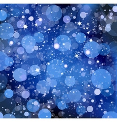 Blue lights vector image