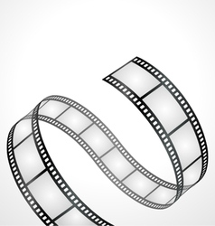 film strip background vector image vector image