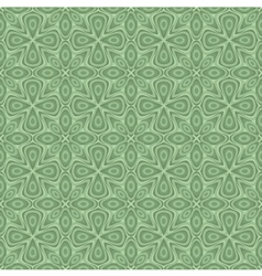 seamless ornamental flower pattern vector image vector image