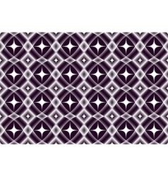 A pattern of diamonds vector