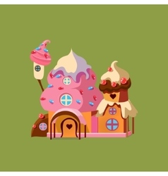 Fantasy Candy House vector