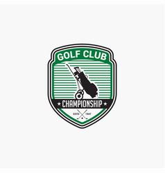 Golf club badge logo-6 vector