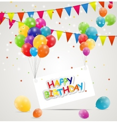 Happy Birthday Card vector