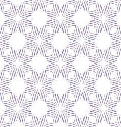 Seamless geometric square pattern vector image