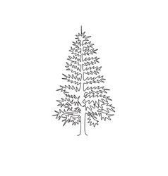 single continuous line drawing beauty and vector image