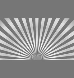 Sun rays background gray radiate sun beam burst vector