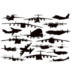 Transport aviation vector image vector image
