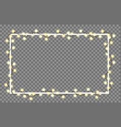 light garland vector image vector image