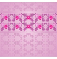 Vintage flourish background vector image
