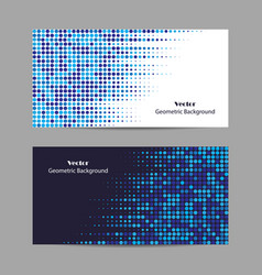 abstract blue dotted background halftone vector image