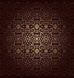 Arabesque vintage seamless background vector