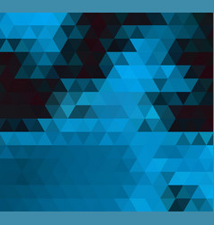 dark blue shining triangular template creative vector image