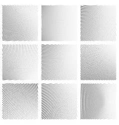 dotted texturehalftone monochrome background vector image