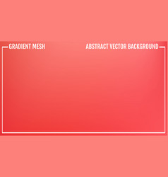 gradient red abstract background eps 10 vector image