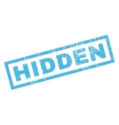 Hidden Rubber Stamp vector