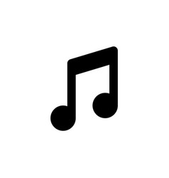 music notes line web or mobile interface vector image