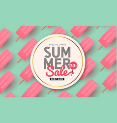 summer 03 vector image