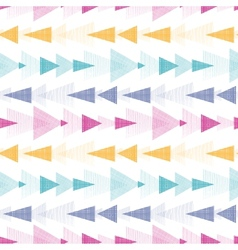 Textured arrows stripes seamless pattern vector image