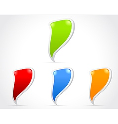 Design of messenger window icon vector image vector image