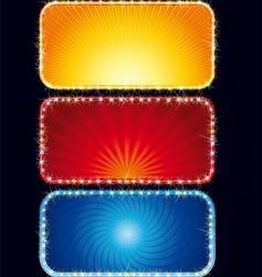 neon signs vector image vector image