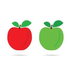 apple color vector image vector image