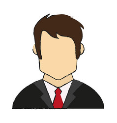 Businessman avatar icon image vector
