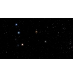 image Abstract Stars constellation vector image