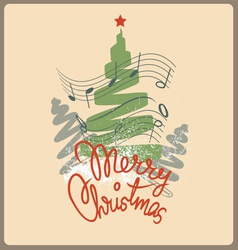 Merry christmas chelebration design vector