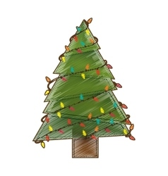 Merry christmas icon image vector