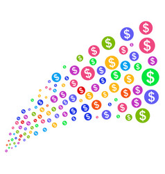 Source stream of money vector
