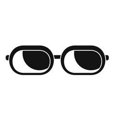 sun glasses icon simple style vector image