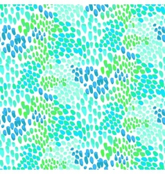 Animal pattern inspired by tropical fish skin vector image vector image