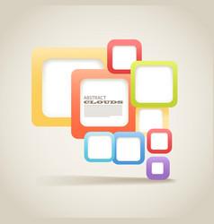 abstract blocks vector image vector image