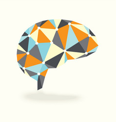 Vintage Brain Activity Synapses vector image vector image