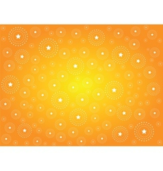 Abstract background with stars vector image vector image