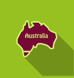Australia - highly detailed map vector