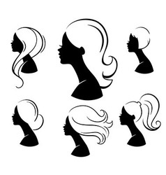 Beautiful womans vector image