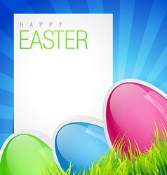 Easter holiday backgorund vector