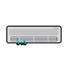 Fan machine ventilator supply icon graphic vector