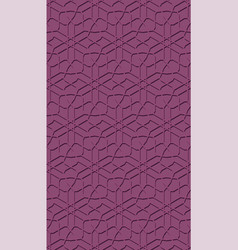 geometric arabic seamless pattern vector image