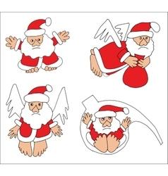 Santa Claus Collection vector image