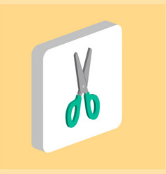 scissors computer symbol vector image