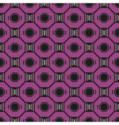Seamless abstract geometric pattern Decorative vector image