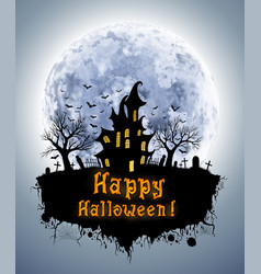 abstract halloween background vector image