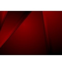 Dark red smooth material corporate background vector